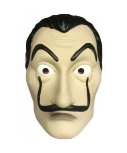 Salvador Dali Maske - La Casa De Papel Cosplay Spanien Gesichtsmaske Halloween Bartmann Haus des geldes