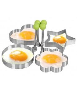 Edelstahl Form zum Braten von Eiern Werkzeuge Omlettform Ei Pfannkuchenring Küchengeräte