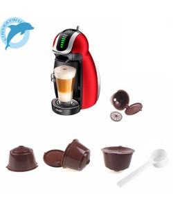 Nachfüllbare Kaffee Kapseln für Dolce Gusto Wiederverwendbare Tasse Cafe Filter Nespresso