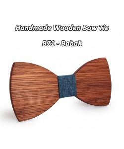 Mahoosive Einfache Herren Anzug Holz Fliege Für Bräutigam Hochzeit Männer Formelle Kleidung Business Krawatte fliege Kleidung Zu