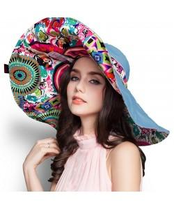 Pfau Mode-Design Sonnenhut Faltbar Sommer Hüte Frauen UV Schutz Hut Mütze