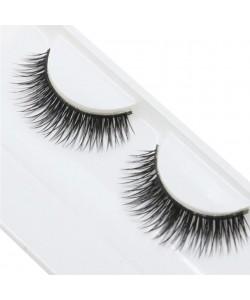 1 Paar Lashes Wimpern natürlich Handgemacht Schönheit Dichte Falsche Wimpern false