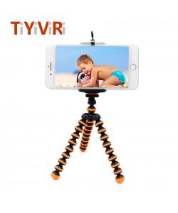 Octopus Kleine Stativ Kamera Ständer Gorillapod Einbeinstativ Mini Stativ Halter für Gopro 6 5 4 3 Sport Kamera für iPhone 8 X U