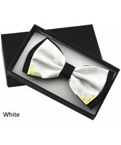 Fliege Luxus Boutique Mode Metall Bogen Krawatten für Männer Frauen Hochzeit Schmetterling Bowtie