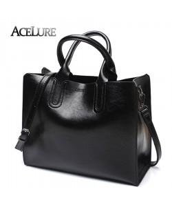Stylische Handtaschen Damen Schultertasche Damen Umhängetaschen Ledertasche aus PU
