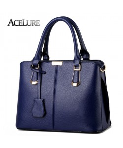 Frauen Top-Griff Handtasche Steinmuster mit Reißverschluss Tasche Koreanisches Design