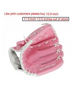 American Baseball Handschuh handgemacht 3 Größen - Tennis Fussball Sport Ballsport rosa schwarz braun